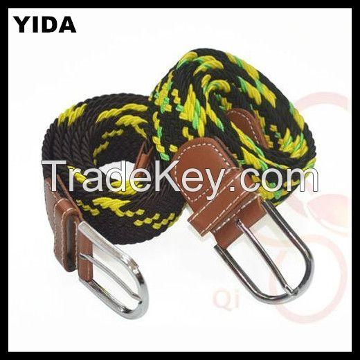 2016 fashion cotton woven belts/Canvas belt