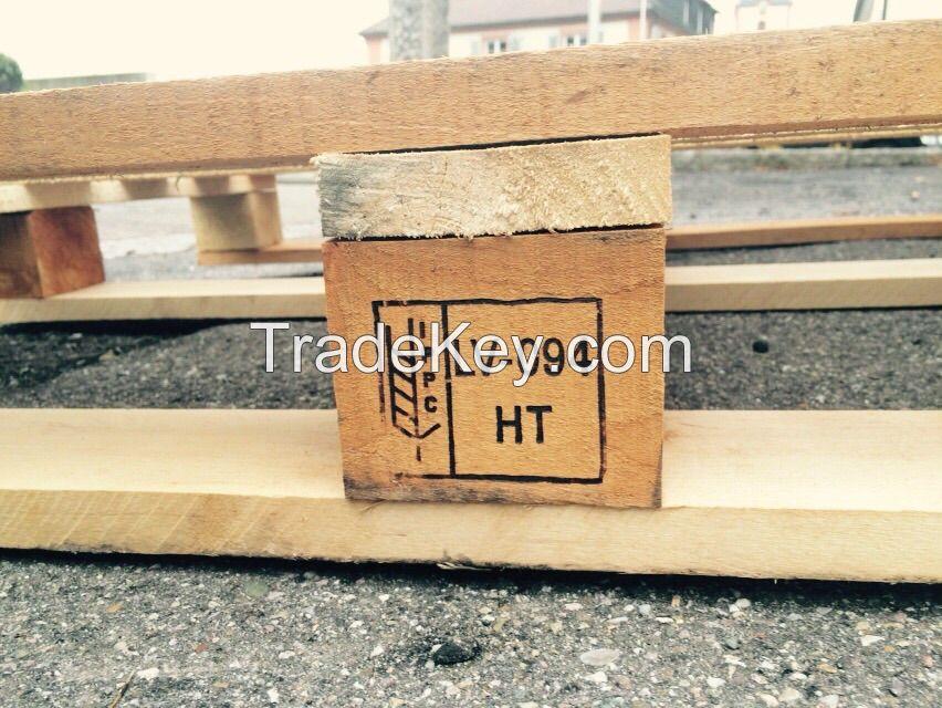 Pallet wood, wooden pallets