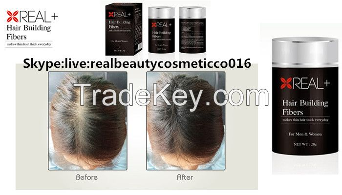 wholesale REAL PLUS Hair Building Fibers with Excellent Quality Private Label