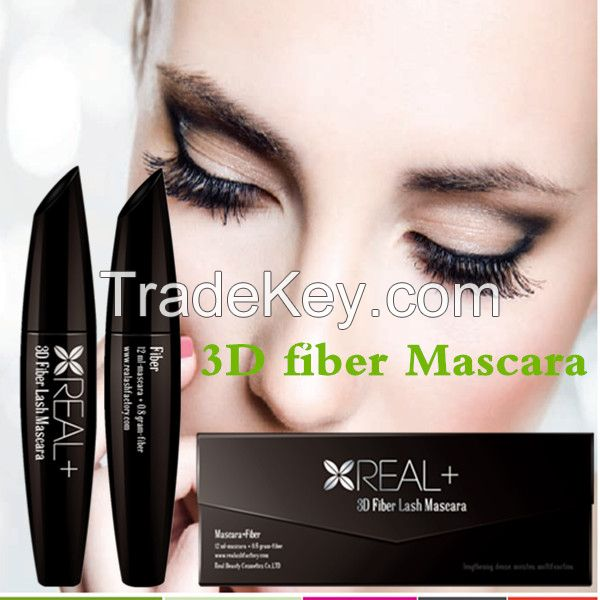 Top sale 3D fiber lash mascara with Private Label