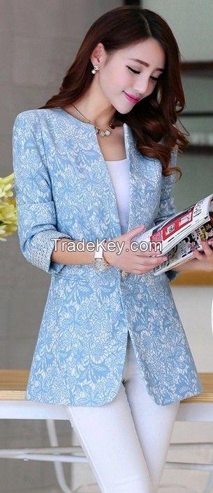 Jacquard fabric for coat