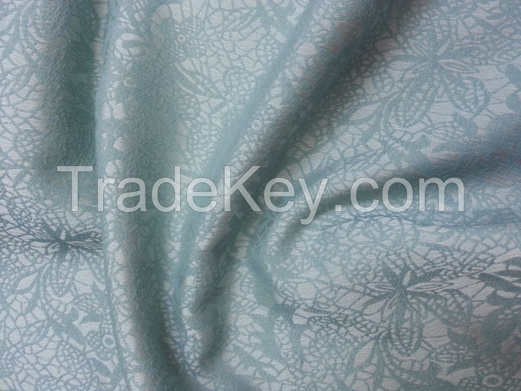 Jacquard fabric for coat