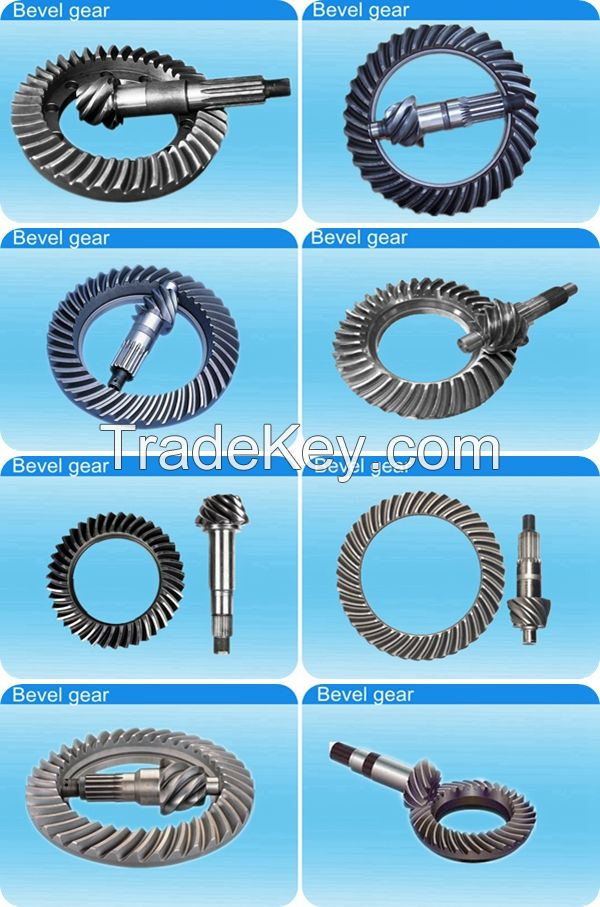 2015 Hot Sell Transmission Parts of OEM Forged Bevel gear for  Rear Drive Axle--Anyang Forging