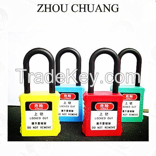 Nylon Lock Shackle Safety Xenoy Padlocks