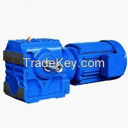 E-S Helical-Worm Geared Motor
