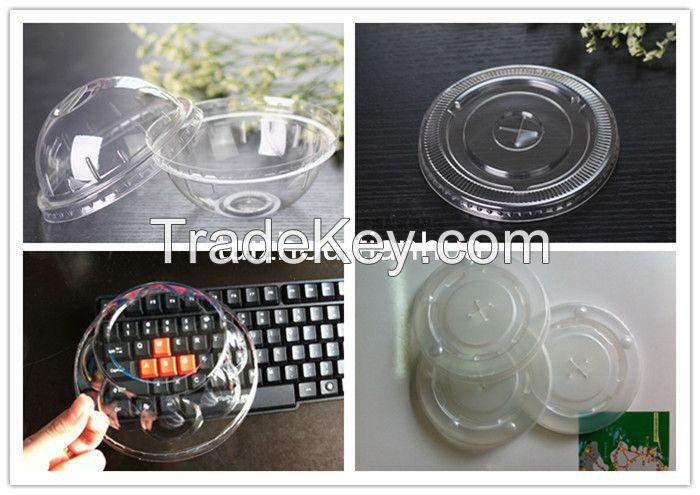 Disposable plastic lids