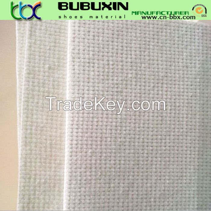 Stitich bonded nonwoven for shoes, cloth linging