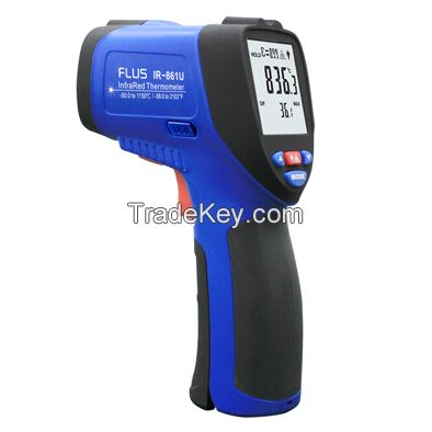 Non contact usb infrared thermometer hanheld for high temperature