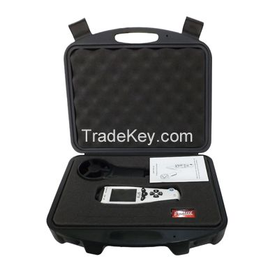 Digital Handheld  Anemometer Air Wind Speed with temperature sensor