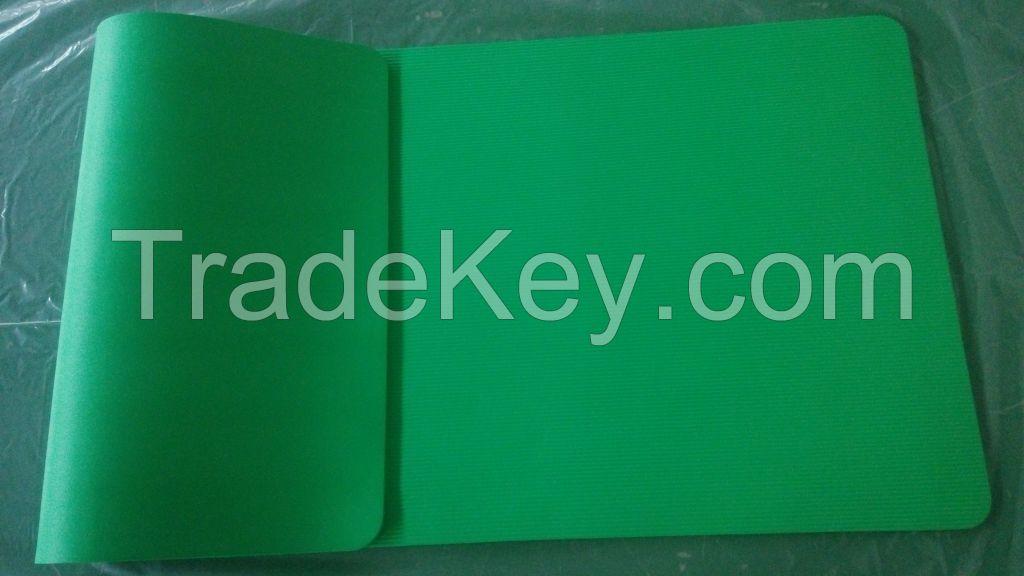10 mm Green NBR Yoga Mat