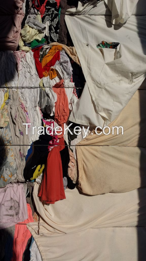 Cotton Used Clothes Wiping, Cleaning Rags