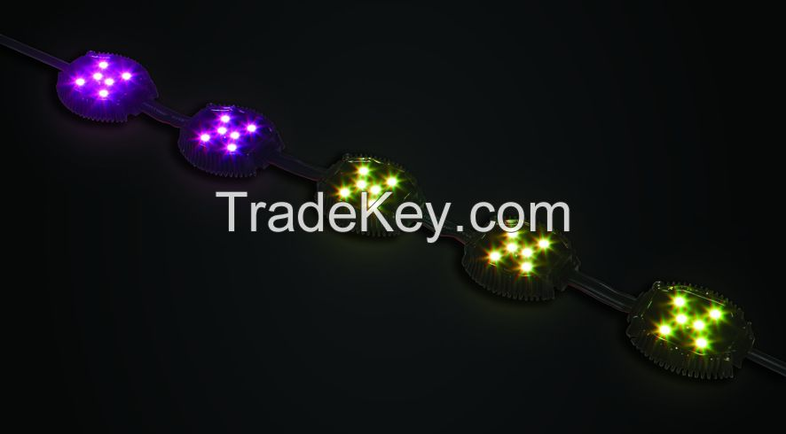 Function and colorful RGB pixel light
