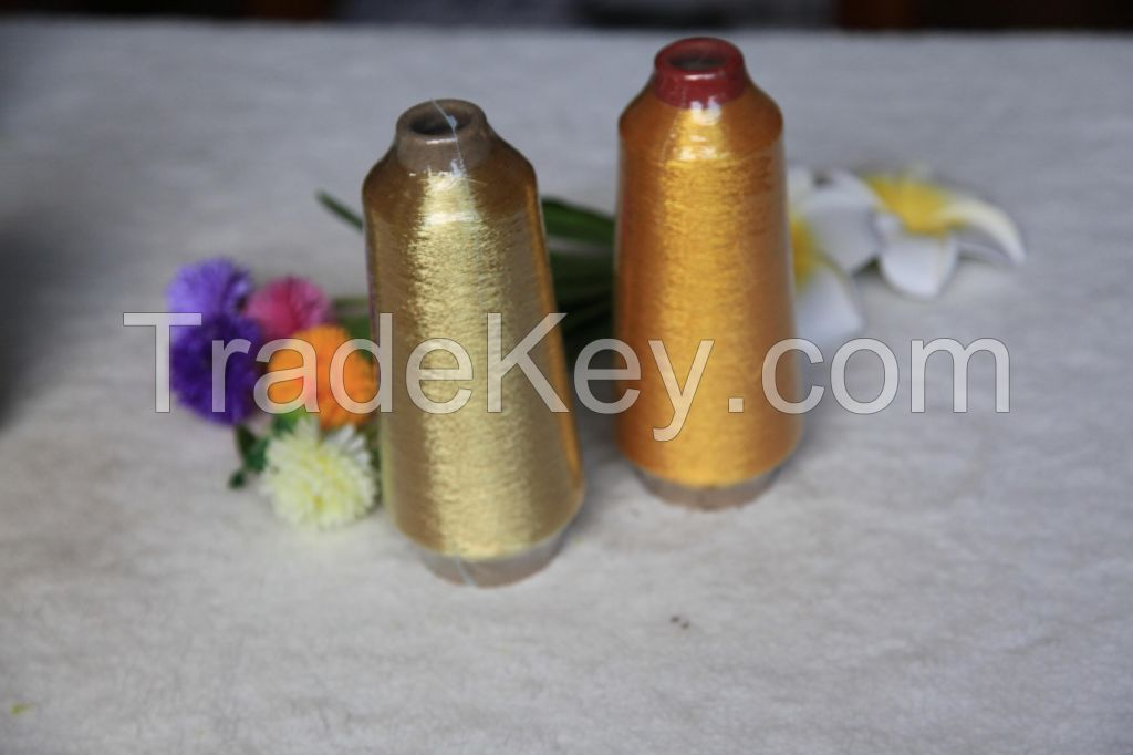 embroidery thread ST type silver metallic sparkle yarn knitting yarn