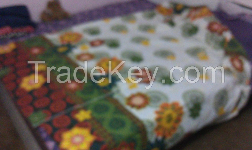 Cotton Bedsheets and Fabric