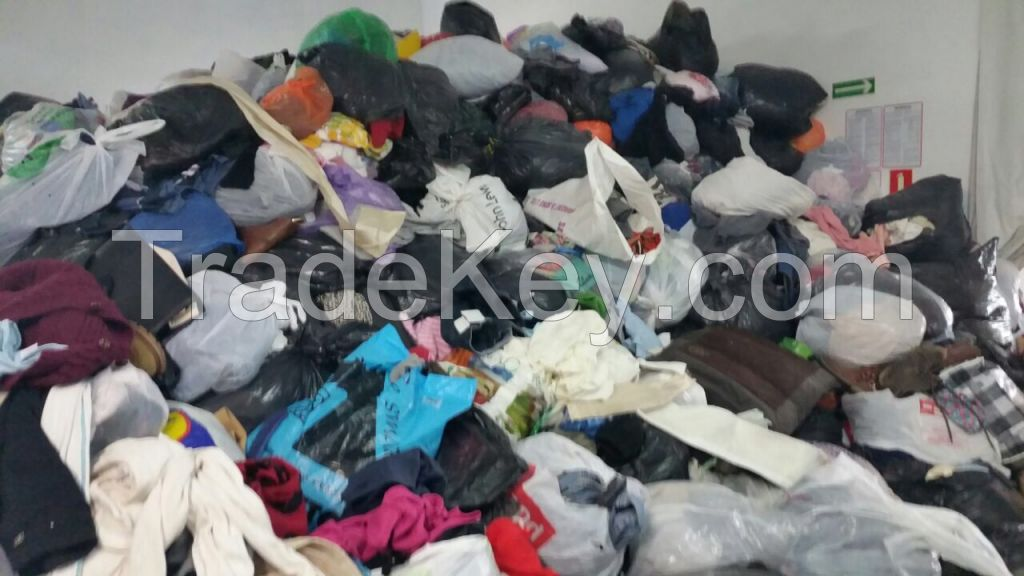 Orginal Unsorted Second Hand clothes from England