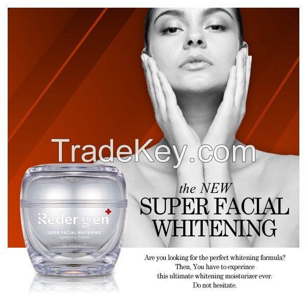 [Redergen] Face Brightening Cream, Whitening Cream, No.1 Aesthetic, Professional, Face, Age Spots, 50g