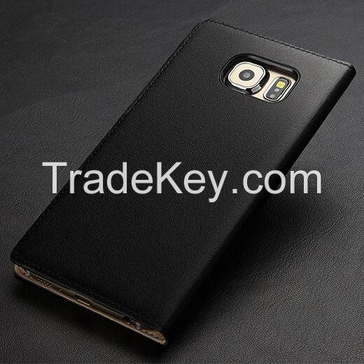 2015 NEW Original View Window Fashion Case Cover  For Samsung Galaxy S6 edge