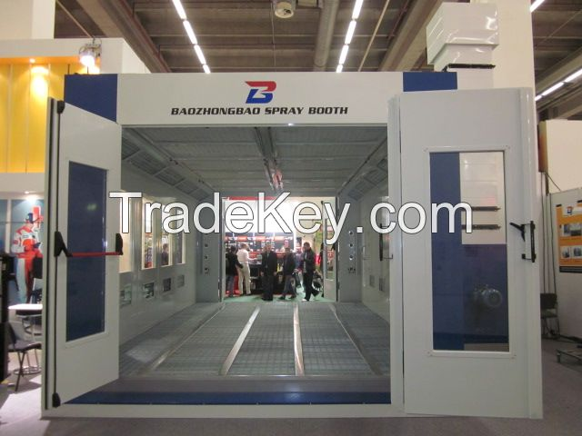 Spray Booth BZB-8400 Italy standard with CE、 ISO 、TUV  Certificated