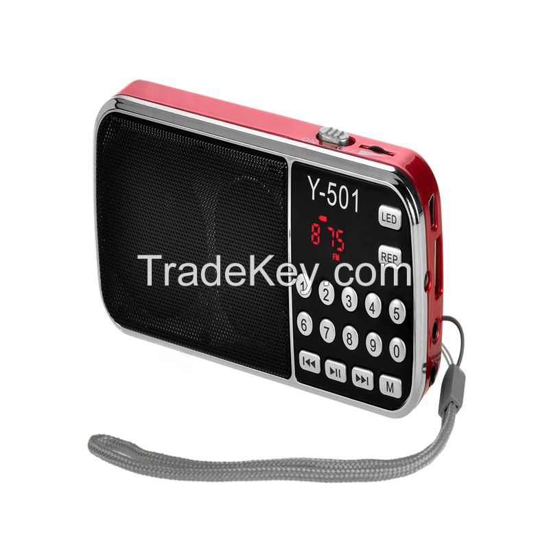 Export hot sell portable digital am fm radio