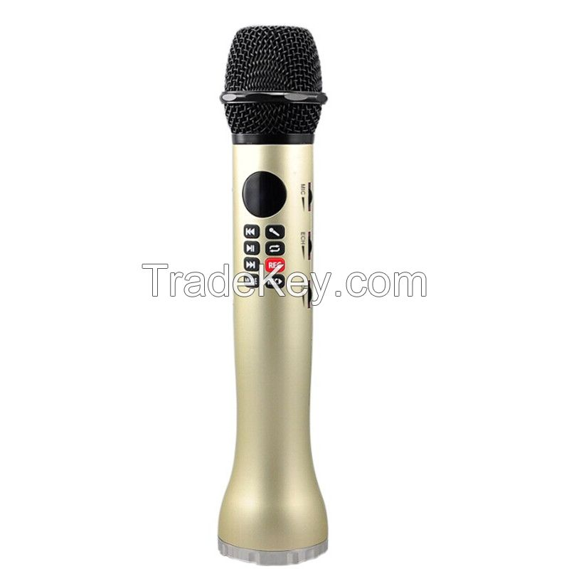 2017 new coming good model portable wireless microphone speaker with bluetooth function