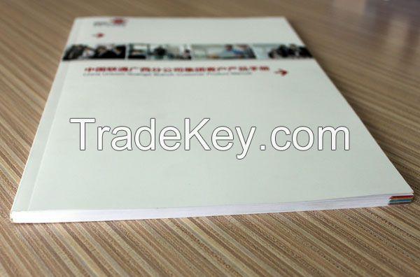Perfect binding catalogue printing