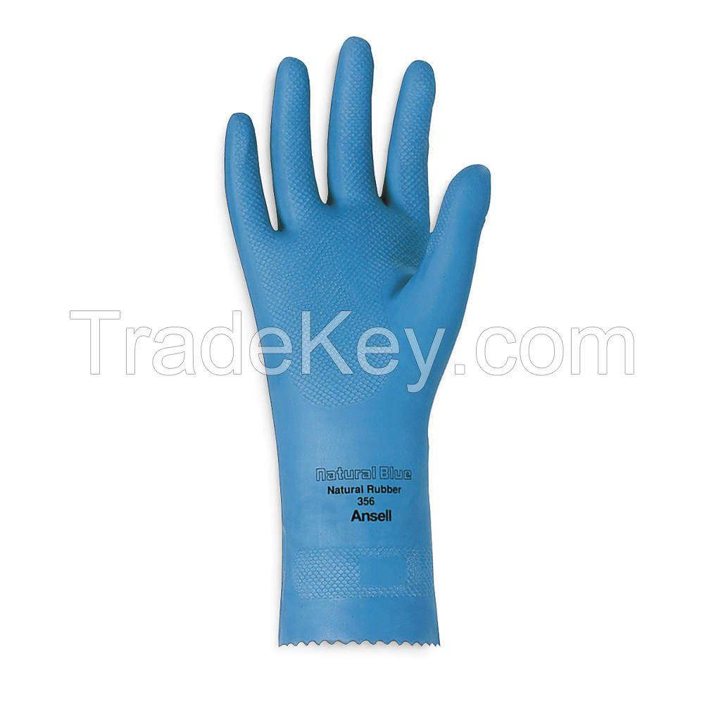 ANSELL 356 D0508 Chemical Resistant Glove 17 mil Sz 8 PR