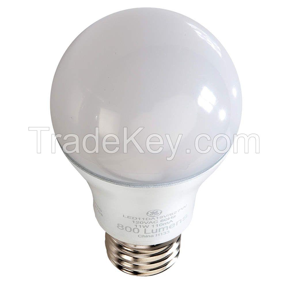 GE LIGHTING LED11DA19V3827W LED Lamp A19 11W Med 2700K Dim