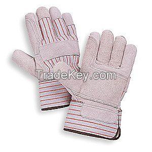 CONDOR 4YV44 D1567 Leather Gloves Safety L PR