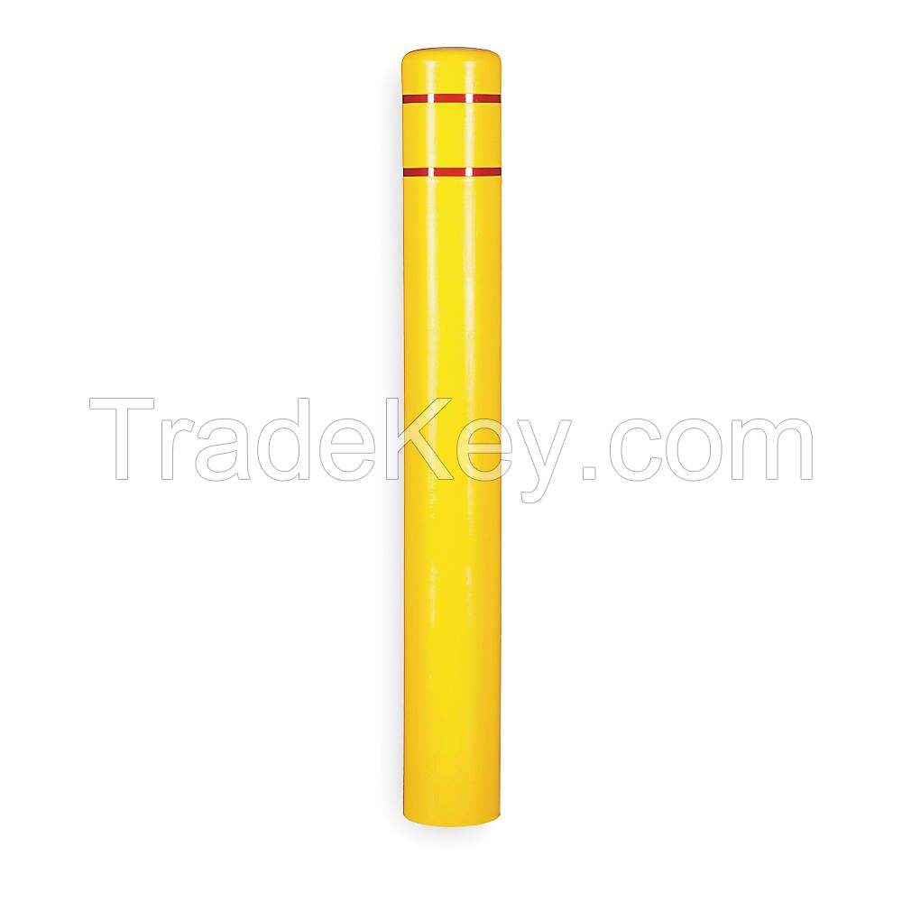 APPROVED VENDOR CL1385D Post Sleeve 4-1/2 In Dia. 52 In H Yellow