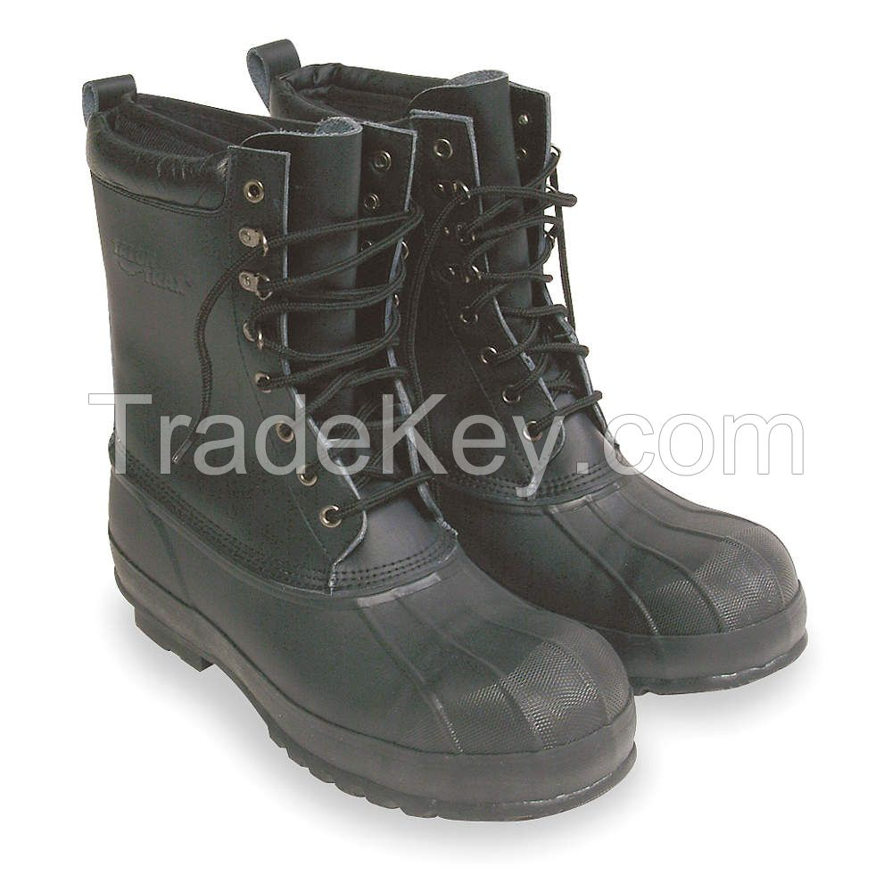 APPROVED  VENDOR     2RA45    Winter Boots, Mens, 10, Lace, Steel, PR