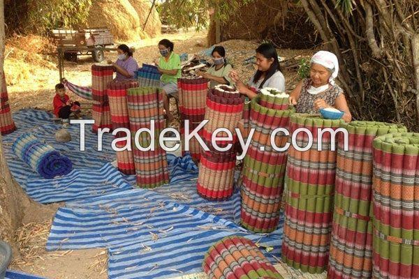 Thai pillow 100% cotton filled Kapok fiber (Village business)