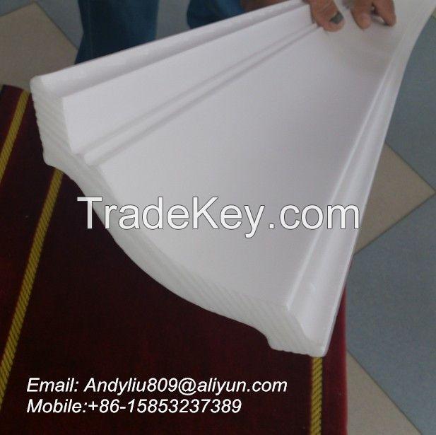 Extruded polystyrene cornice