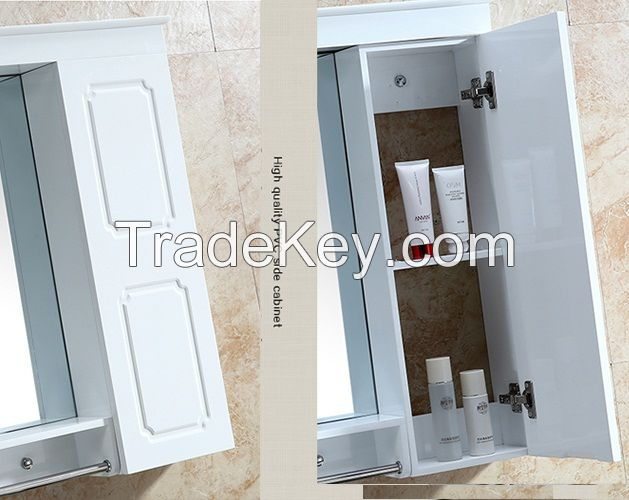 PVC Bathroom Cabinets in European Classical Style