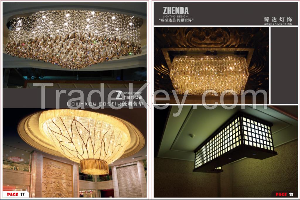 chandelier crystal lighting, led ring light,modern luxury crystal chandeliers