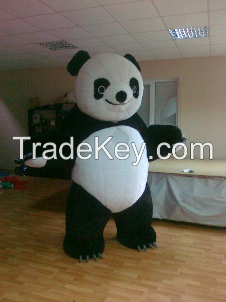 Inflatable 3 meter Panda for weddings, birthdays, advertising