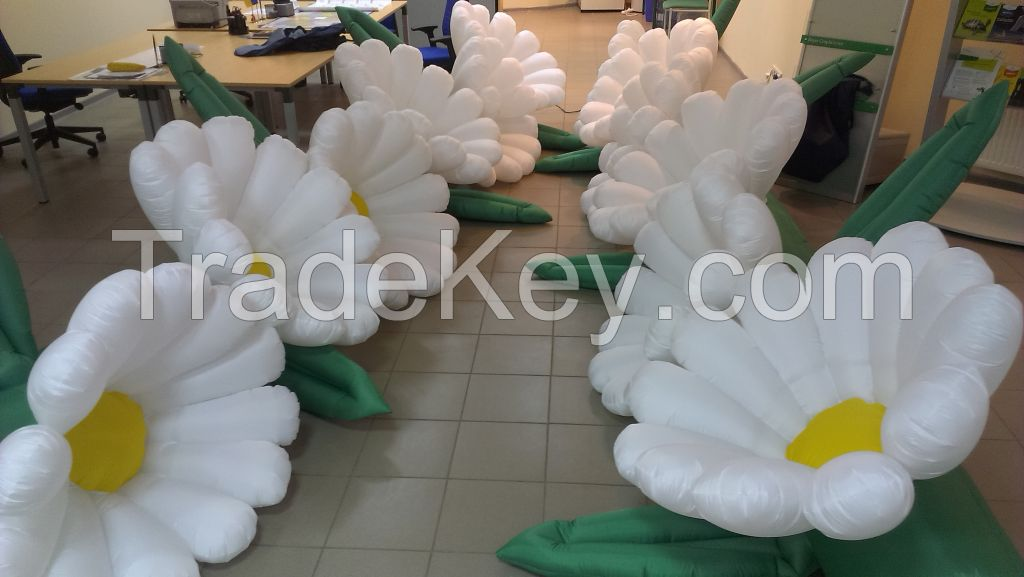 inflatable flowers Chamomiles 5/7/10 m. for weddings, events, festivals, birthdays