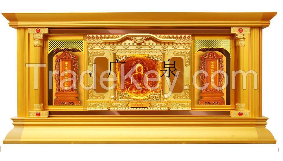 Coloured glaze columbarium