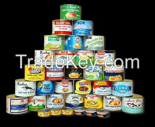 Canned Tuna product