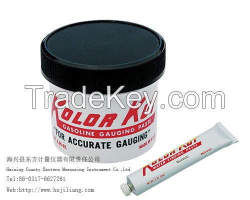 Oil finding paste and water finding paste