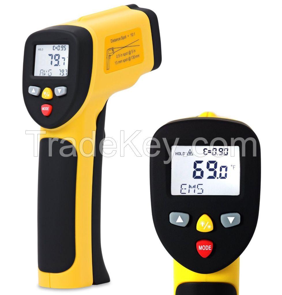 EnnoLogic Temperature Gun Dual Laser Non-Contact Infrared Thermometer