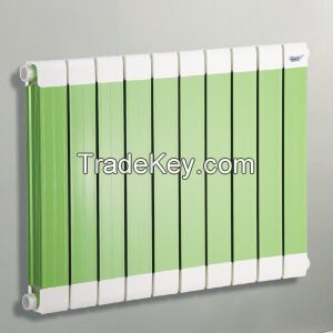 shencai radiator new type carbon-plastic alloy tube home heating radiator hot water aluminum radiator