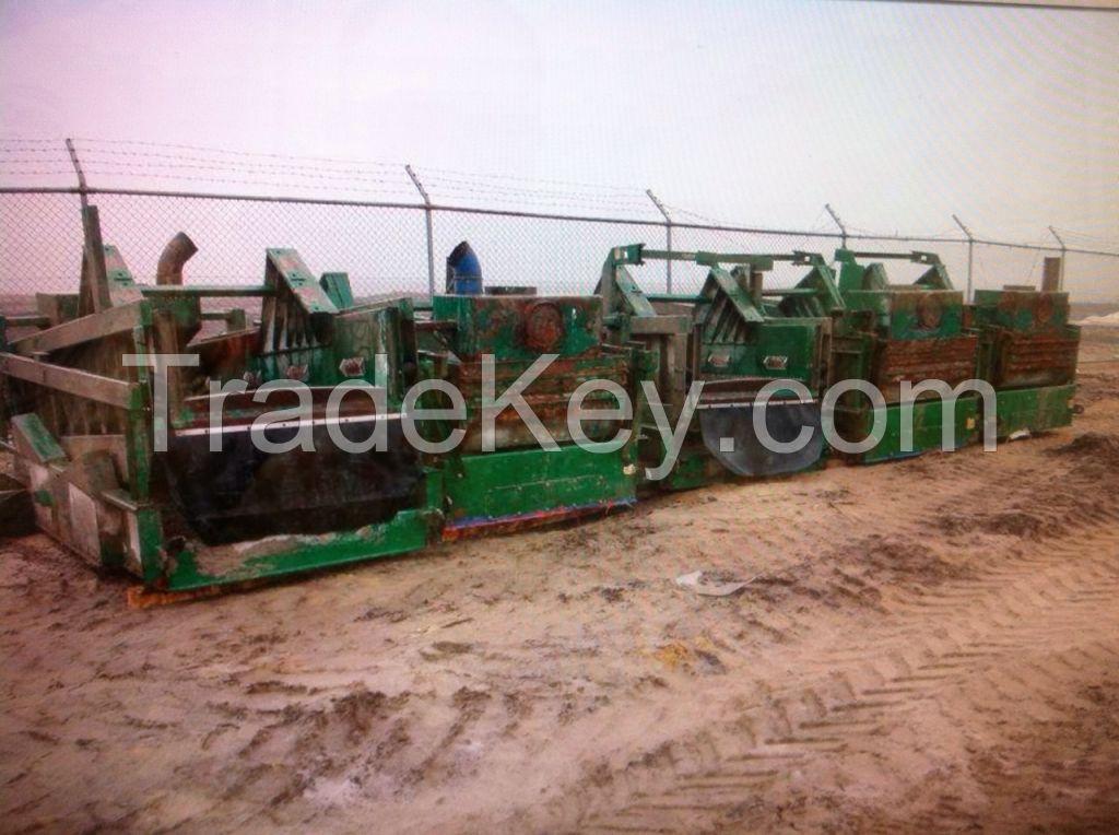 Steel scrap from Russia, Korsakov