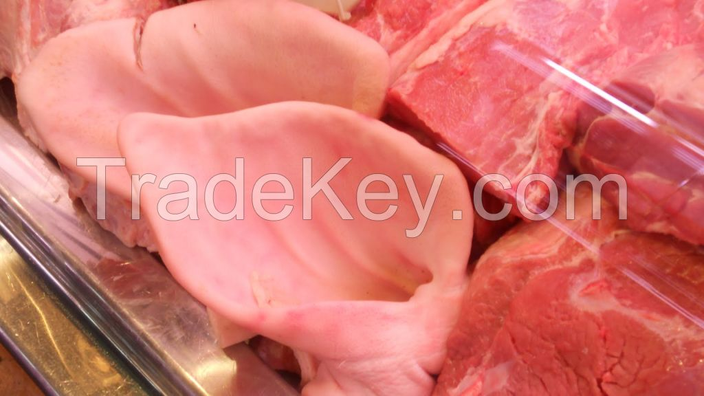 frozen meat, tail and livers