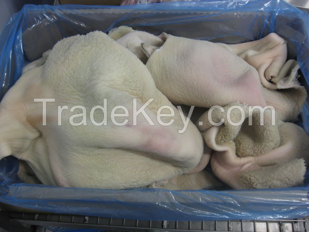 frozen cow leg, beef meat, goat meat, lamb meat, animal skin