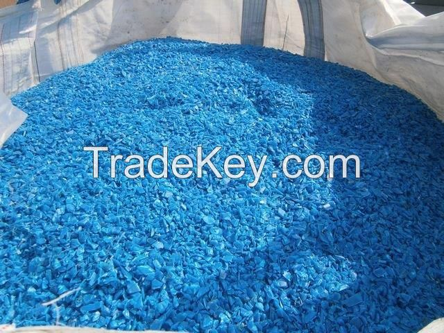 HDPE LDPE PET- bottle- drums- crates- bales, regrind, pellets, granules