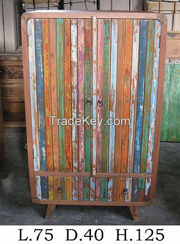 Cupboard, Wardrobe- Boat Furniture - Recycled Furniture - Special Design