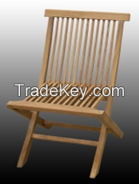 Folding Chair-Garden Furniture-Wood-All measures possible