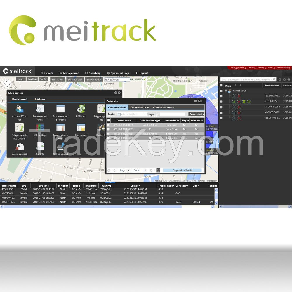 Meitrack Easy install Car GPS Tracking System MS03 with More Than 20 Language Versions