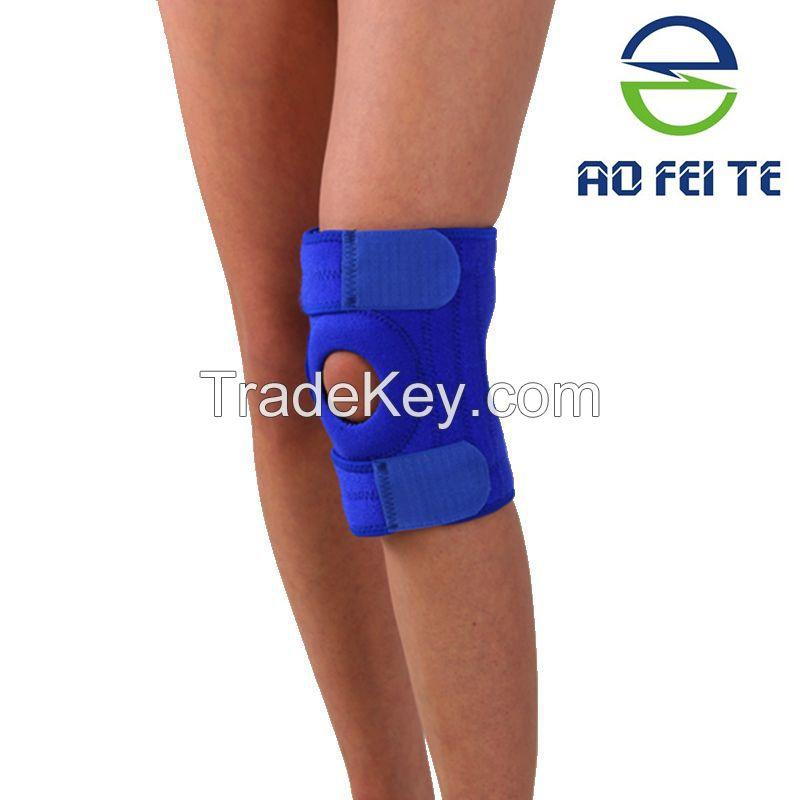 Adjustable Fitness Knee Pad for Sports, Neoprene Knee Support
