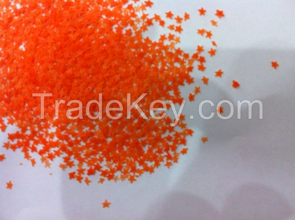 colorful speckles for detergent raw materials